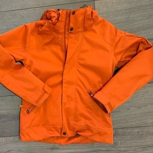Orange Burton Snowboard Jacket